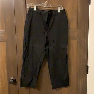 Burberry black golf pants